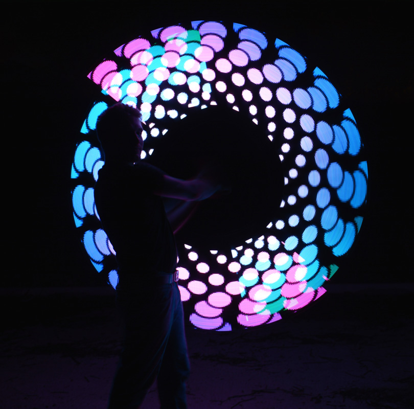 Led Lights Performance Lightdance For Events Fireshow And